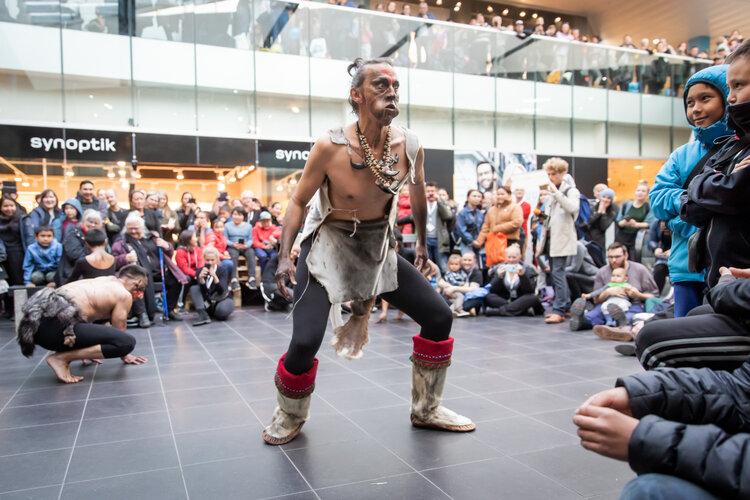 El arte llena Nuul con el Nordisk Kutlurfestival. Foto de Dida G. Heilmann / Nuuk Nordisk Kulturfestival