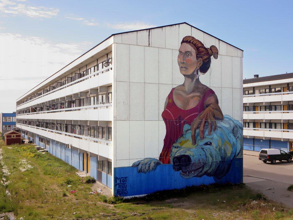 Edificios singulares en Nuuk, Groenlandia. Singularia