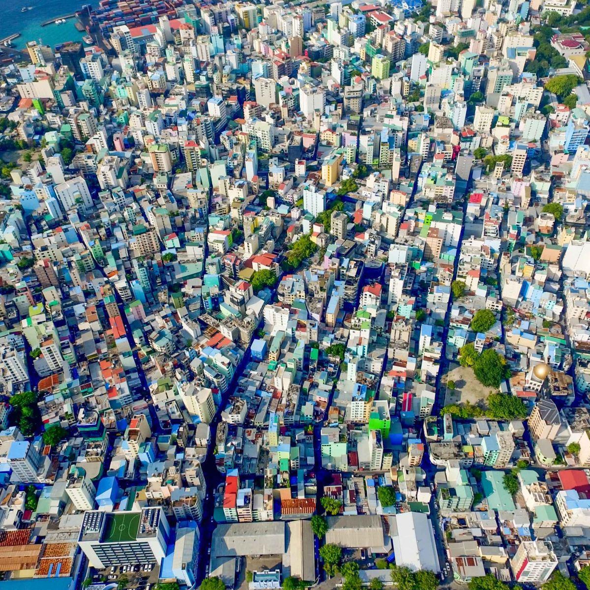 Malé, la capital de Maldivas: una microcapital singular