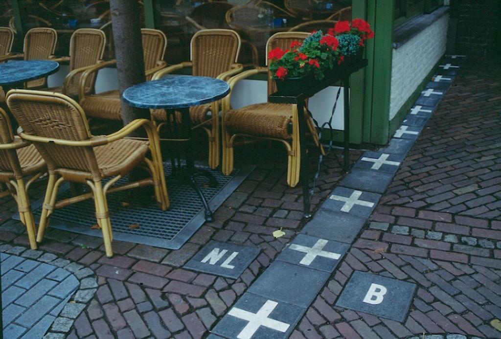 Baarle-Nassau y Baarle-Hertog son lugares singulares: ciudades divididas entre Holanda y Bélgica