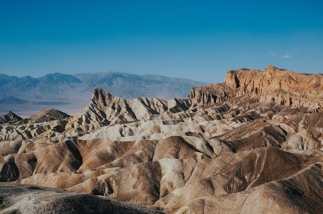 Valle de la Muerte, lugar más caluroso del mundo