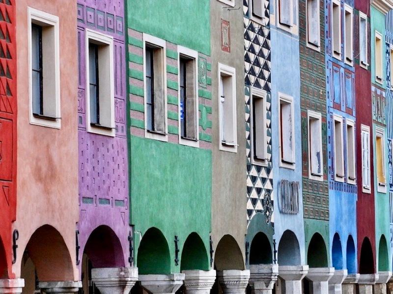 La plaza más colorida de Europa