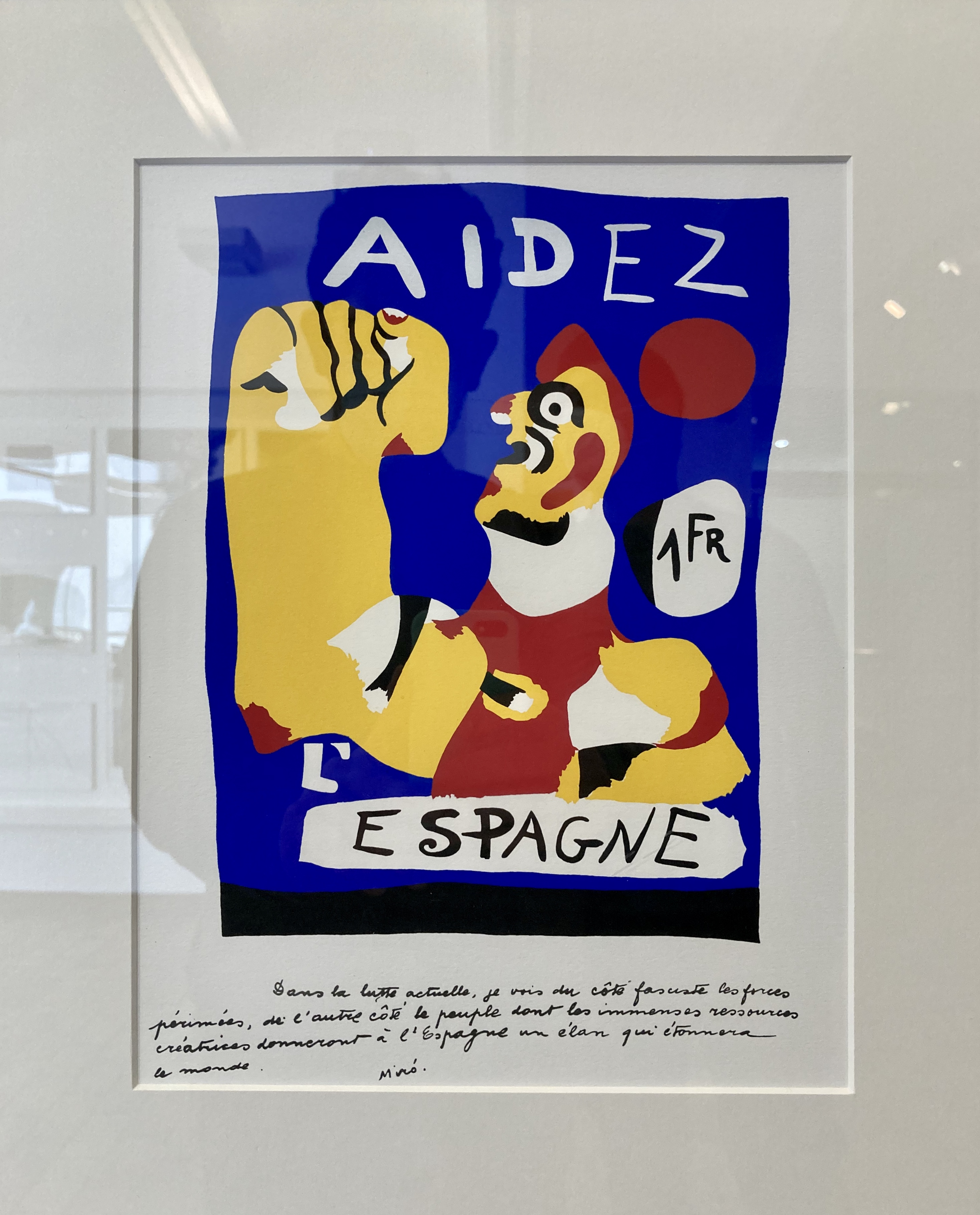 Fundació Miró: 'Aidez l'Espagne'