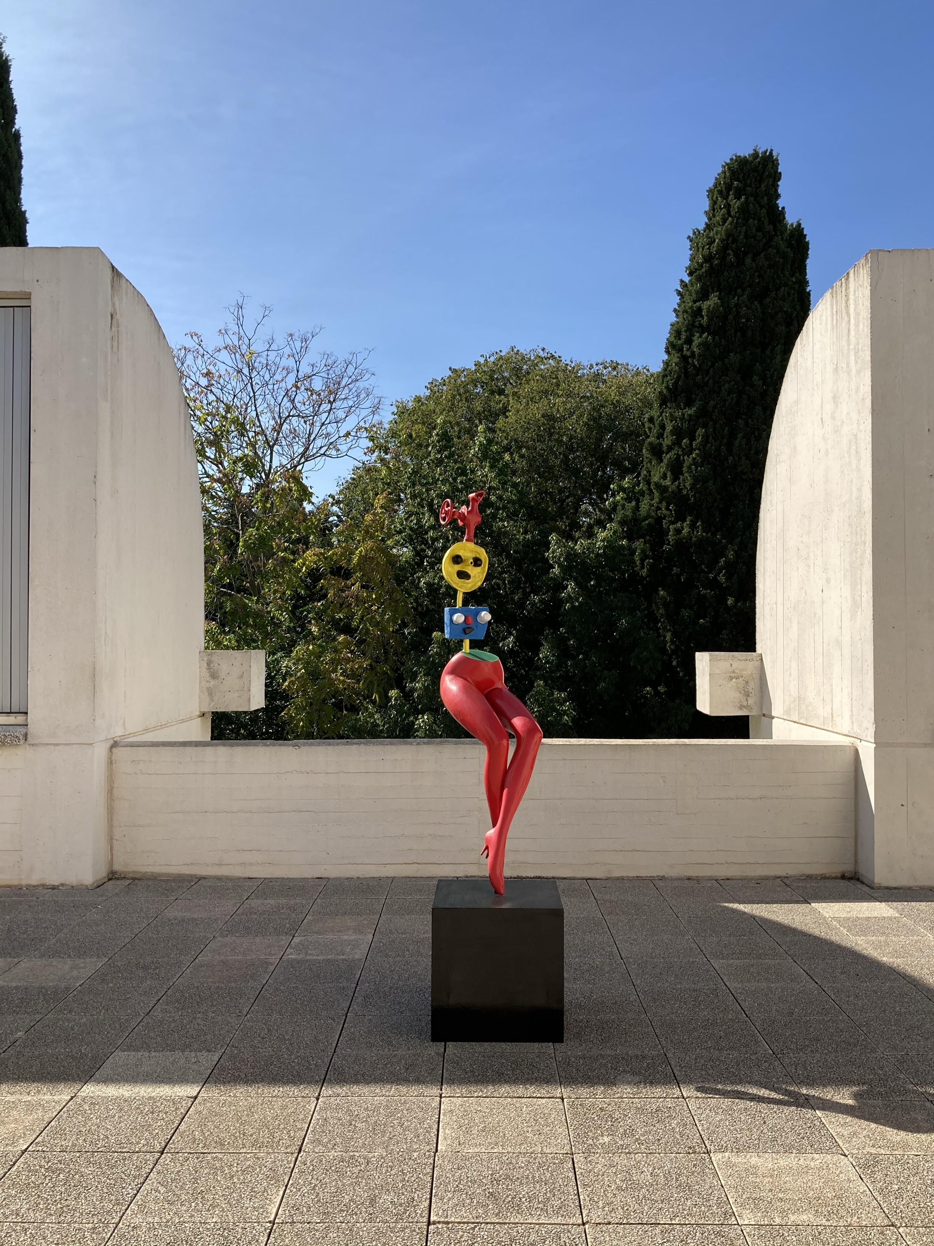 Fundació Miró - esculturas terraza