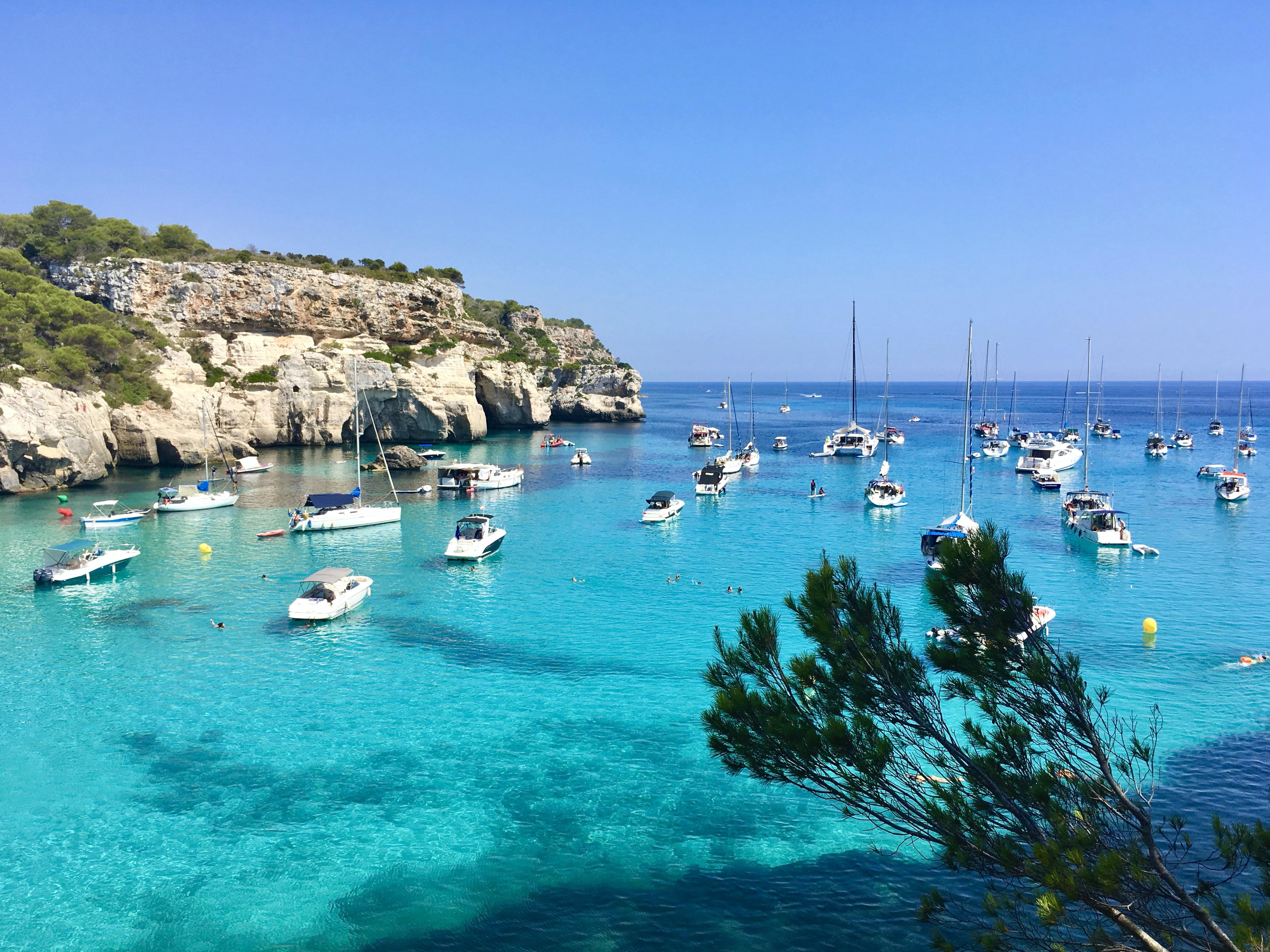 Colores de Menorca: Macarella