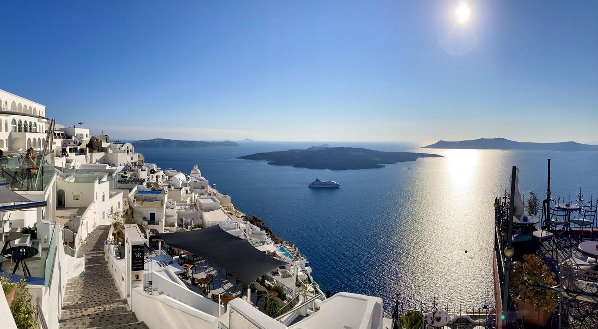 atardecer de Santorini