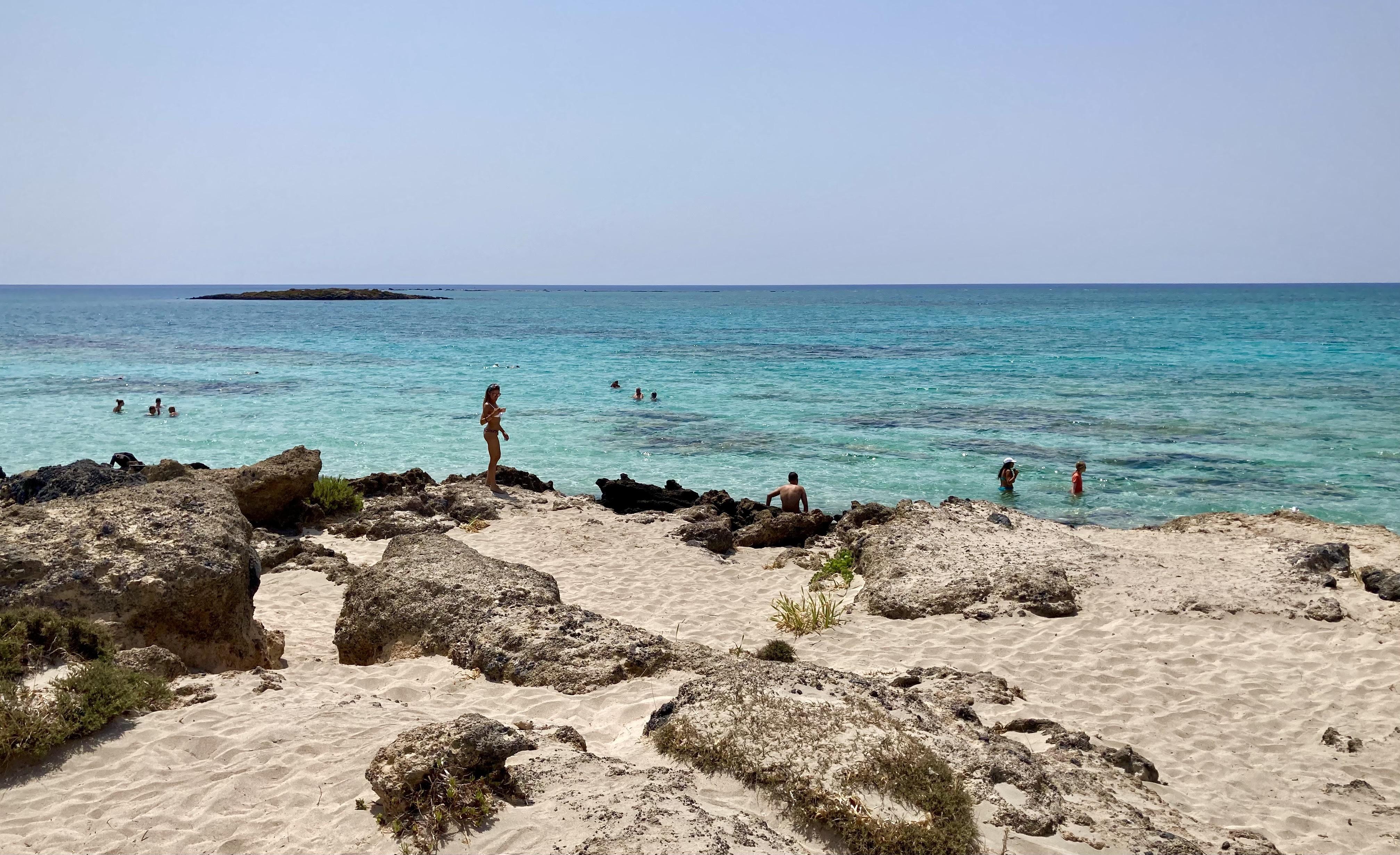 Creta y sus azules