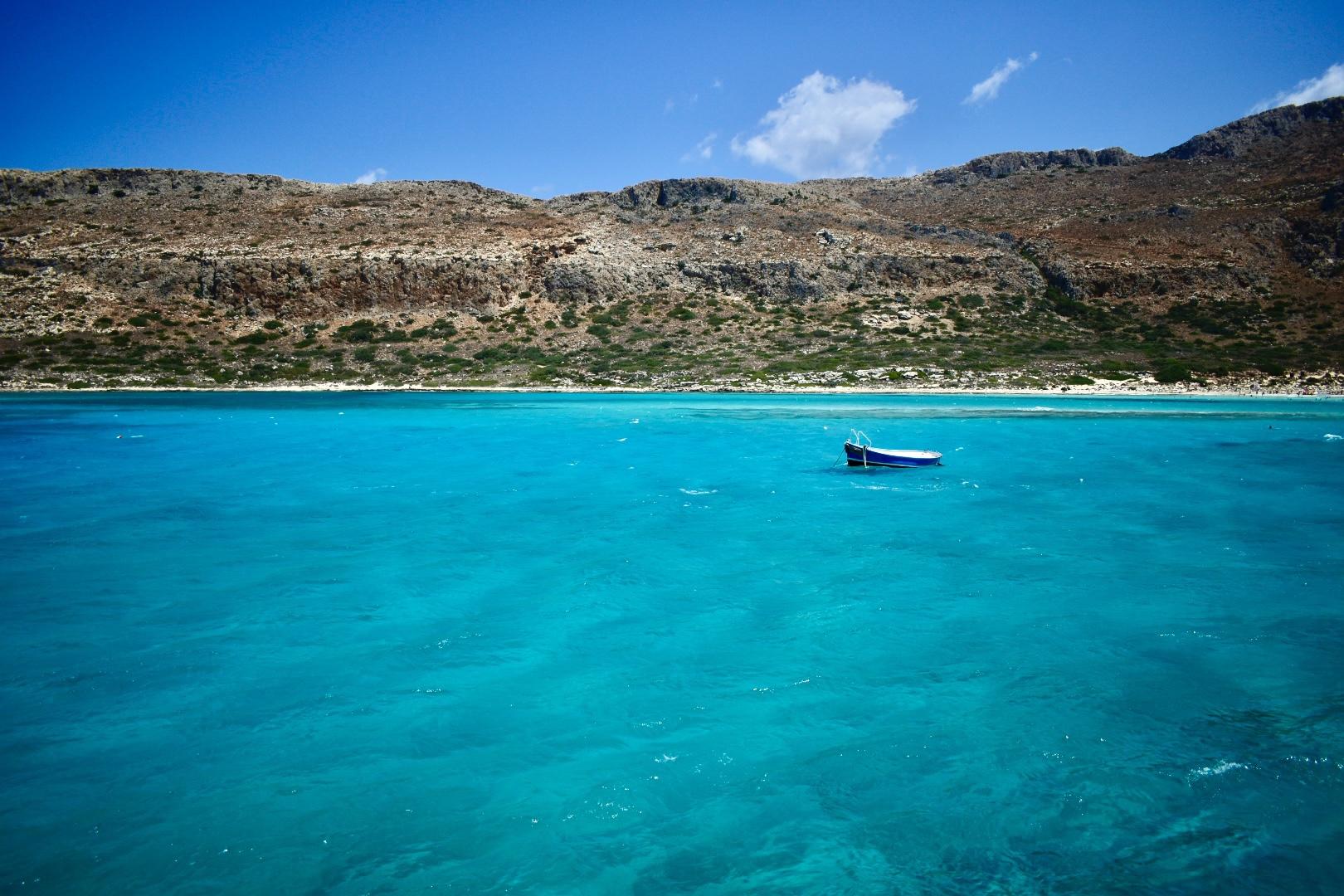 Creta en 8 azules: Balos